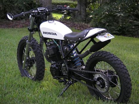"HONDA XL600 R // white sand tracker by Thierry ""Roc"" 