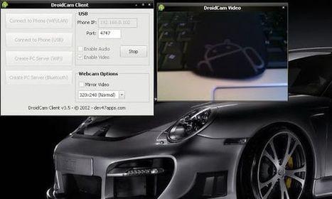 DroidCam, convierte tu Android en una webcam y un micrófono para tu ordenador | Educacion, ecologia y TIC | Scoop.it