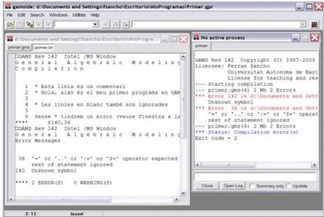 Tecnología: General Algebraic Modelling System (GAMS) | Diario OR | Scoop.it