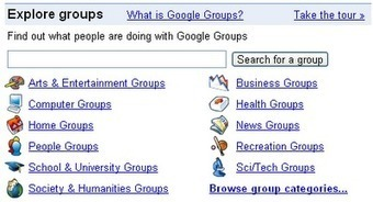 Google Groups - connect, share, communicate, discuss - great for education | CLED2012 | Scoop.it