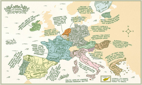The Eurozone | Map@Print | Scoop.it