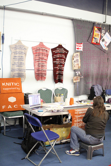 Knitic project, or how to give a new brain to knitting machines | Knitting Machine | Scoop.it