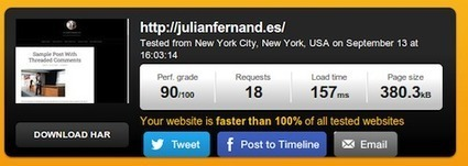 How to Make WordPress Sites Load 72.7% Faster | Copyblogger | WordPress consulting | Scoop.it