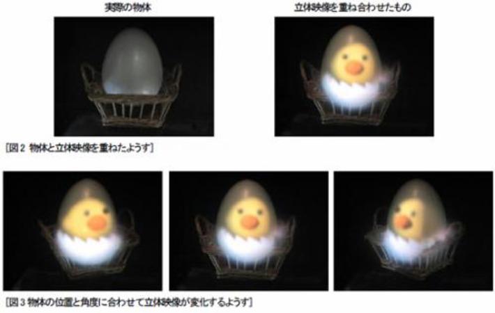 Hitachi demos 3D real-world object projector | Machinimania | Scoop.it