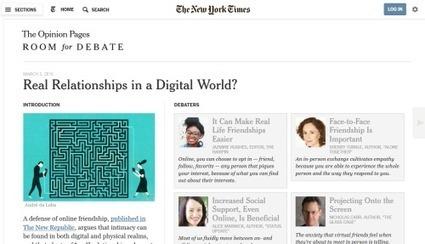 Internet élargit-il la gamme de nos relations intimes ? | Sociologie du numérique et Humanité technologique | Scoop.it