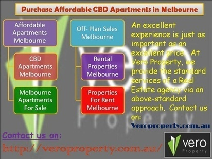 Purchase Affordable CBD Apartments in Melbourn | Veroproperty.com.au | Scoop.it