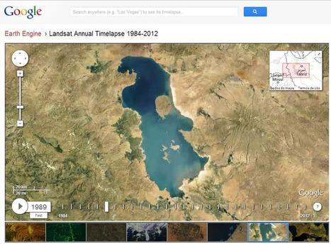 Google Earth Engine: Imagens LandSat de 1984 - 2012 | Anderson ... | #Geoprocessamento em Foco | Scoop.it