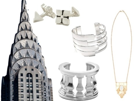 Jewelry Inspired by NYC Buildings | Naked Real Estate | Real Estate | Scoop.it