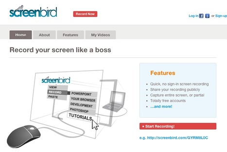 Screenbird - Free Sharable Screen Recording | eDidaktik | Scoop.it