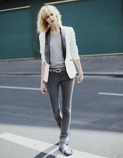 Le look de la semaine : la veste smoking - Elle   La mode en France   Scoop.it