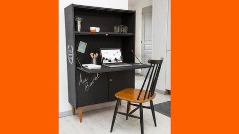 Moderniser un secrétaire avec un effet tableau noir | Habitat intérieur | Scoop.it