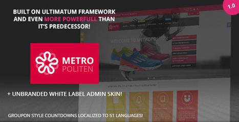 Metropoliten Responsive OpenCart Theme - ServerThemes.Net | Best Premium OpenCart Themes | Scoop.it
