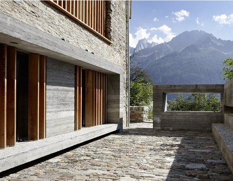 'Essential necessity' in Ruinelli's redevelopment of an old stable | Idées d'Architecture | Scoop.it