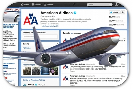 American Airlines responds to every tweet with original, non-scripted answers | Articles | Home | Marketing on social platforms | Scoop.it