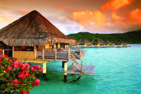 Bora Bora Bungalow On The Pacific Ocean | Vacation Destinations Information | vacation around the world | Scoop.it