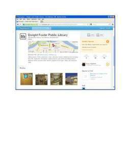 Check-in at the library with Foursquare and Yelp | The Information Professional | Scoop.it