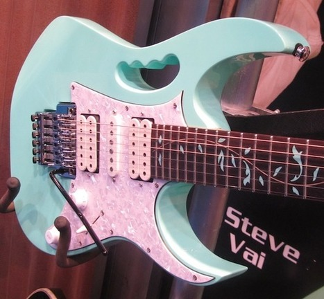 NAMM 2012: Ibanez Premium Jem70V | Guitar News from NAMM 2012 | Scoop.it