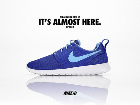 Nike Roshe Run Comes to Nike iD This Week • Highsnobiety | baskets et street wear | Scoop.it
