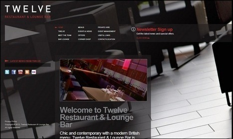 80+ Amazing Photography Website Examples | Web Design | Scoop.it