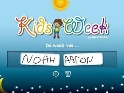 Kids week – App review | Juf Jannie - Juf Jannie | Kleuters en ICT | Scoop.it