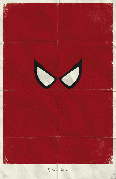 21 posters minimalistes Marvel : X-Men / Avengers / Daredevil / Spiderman | Minimalistdesign | Scoop.it