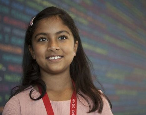 La vera star della WWDC è stata Anvitha Vijay, la sviluppatrice di nove anni | Teaching and Learning English through Technology | Scoop.it