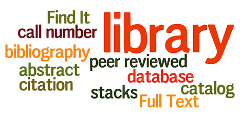 10 Library Terms for High School Students   Bibliographic service in library   Scoop.it