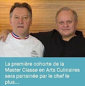 L'Ecole hôtelière de Lausanne aura sa – Master Classe en Arts Culinaires – parrainée Par Joël Robuchon | Gastronomie Française 2.0 | Scoop.it