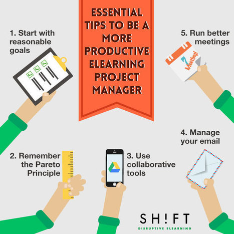 5 Indispensable Tips to Be a More Productive eL... | Software and Technology Training | Scoop.it
