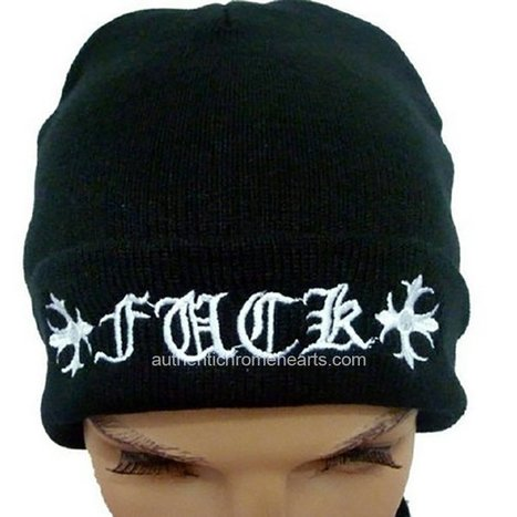 White Chrome Hearts Signature Crosses and Letters Black Hat [Chrome Hearts Hats] - $117.00 : Authentic Chrome Hearts | Chrome Hearts Online | Boutique | Scoop.it