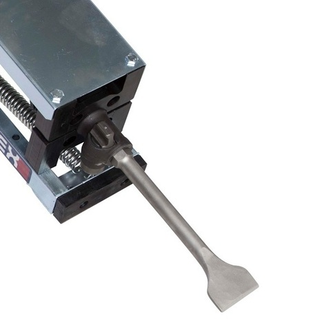 Floor Tile Removal | Flippable Wide Chisel Jackhammer Attachment | Makinex US | Jackhammer Trolley | Scoop.it