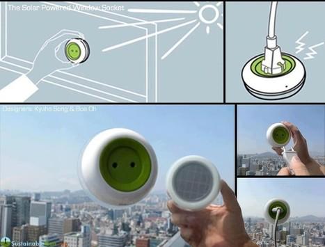 La prise solaire rechargeable | cours info | Scoop.it