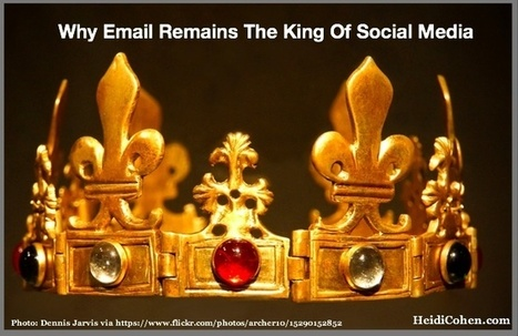 Why Email Remains The King Of Social Media - Heidi Cohen | MarketingHits | Scoop.it