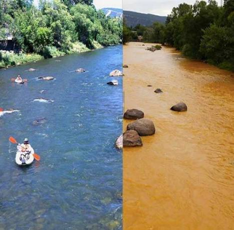 Animas River Mine Waste (PHOTOS) Mankind and #pollution | Messenger for mother Earth | Scoop.it