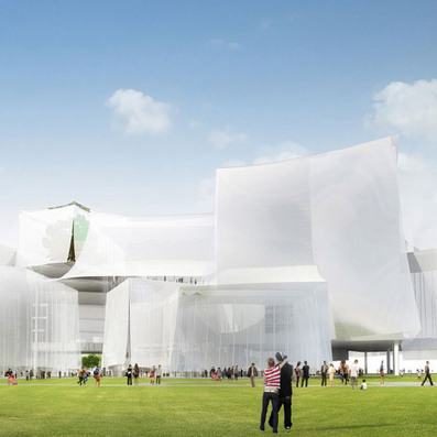 [Taiwan, China]  SANAA wins Taichung Cultural Centre competition | The Architecture of the City | Scoop.it
