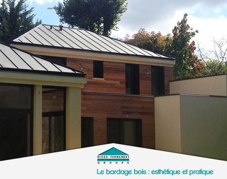 Le bardage bois : esthétique et pratique pour la maison... | Les actualités du Groupe Diogo Fernandes | Scoop.it