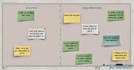 Scrumblr : un tableau blanc virtuel en ligne | Outils-Gestion-Management-de-Projet | Scoop.it