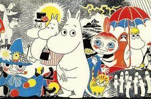 Bienvenue dans le Monde magique des Moomins   Art#9   Scoop.it