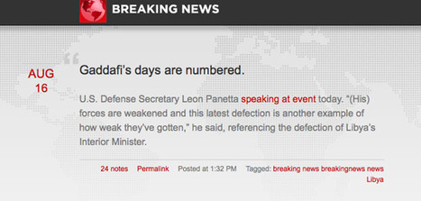BreakingNews Joins Tumblr, Will Aggregate Breaking News - 10,000 Words | DigitalDirections | Scoop.it