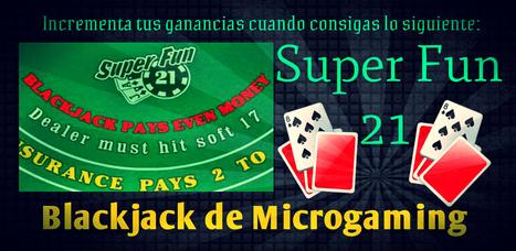 Super Fun 21 Blackjack de Microgamin | Online Casino | Scoop.it