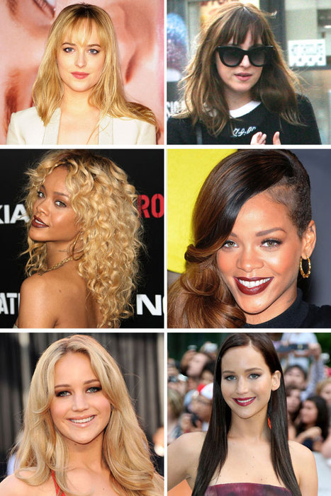 Blonde vs. Brunette: Celebs Who Made the Switch | Beauty | Scoop.it