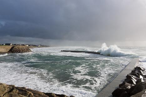photoblog - blog photo - Bretagne - Finistère :  vagues à Penhors (5 photos) | photo en Bretagne - Finistère | Scoop.it