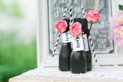 So Chic: DIY Champagne Favors | Home + DIY | Scoop.it