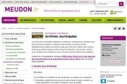 L'état civil de Meudon est numérisé, indexé et sur Internet - La Revue française de Généalogie   L'écho d'antan   Scoop.it