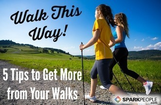 5 Ways to Make Walking More Wonderful | One Step at a Time | Scoop.it