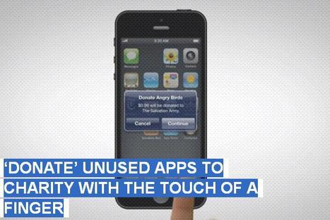 'Donate' Unused Apps To Charity With The Touch Of A Finger | Amana Charitable Trust | Scoop.it