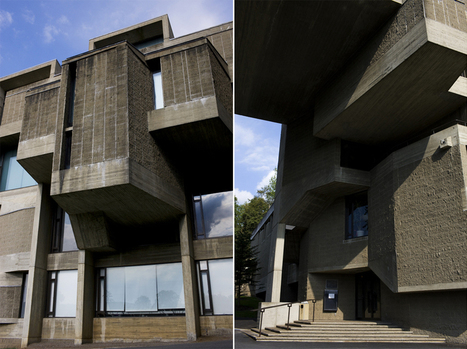 Were Brutalist Buildings on College Campuses Really Designed to Thwart Student Riots? | The Architecture of the City | Scoop.it