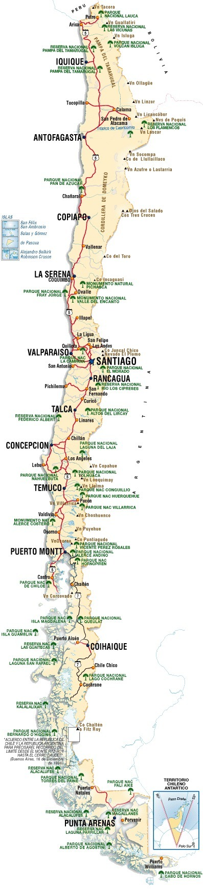 Geography and Map of Chile   Chile, Savannah Watts   Scoop.it