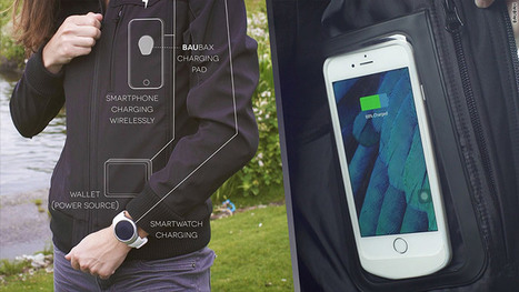 BauBax creates clothes to wirelessly charge your devices | Edtech PK-12 | Scoop.it