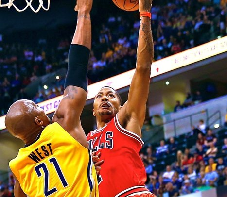 Rose: Verticle Leap Has Increased 5 Inches | Sports | Scoop.it